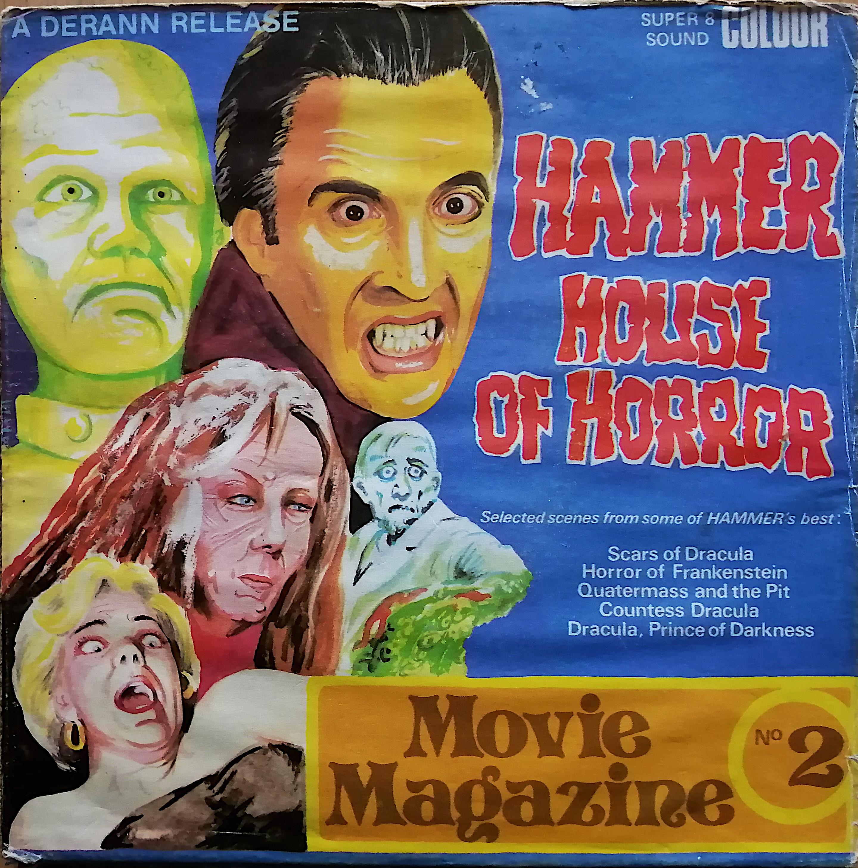 The House Of Hammer super8database - hammer house of horror